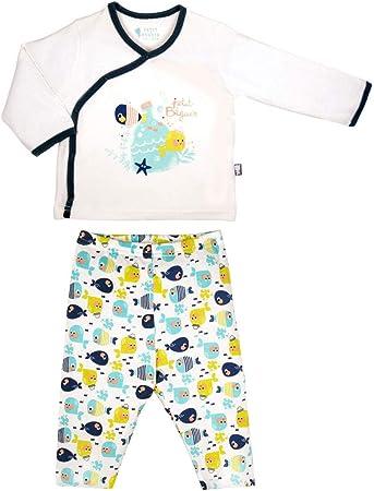 Pijama bebé 2 piezas Pequeño Pescado – Talla – 36 meses (98 ...