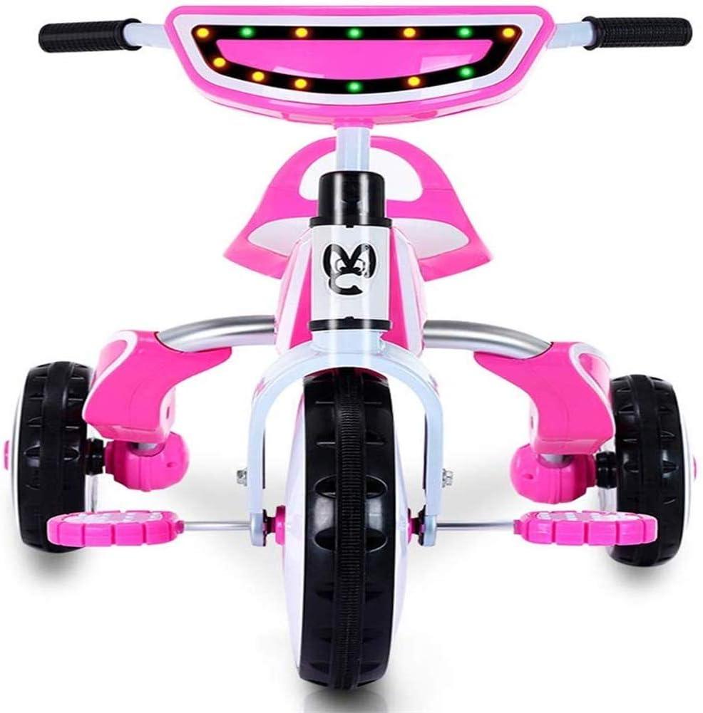 AJH Niños triciclos Uso del Modelo es Adecuado para el Coche Vacaciones de un Coche Plegable Kid Trike ToddlersFolding BugKids al Aire Libre y Home