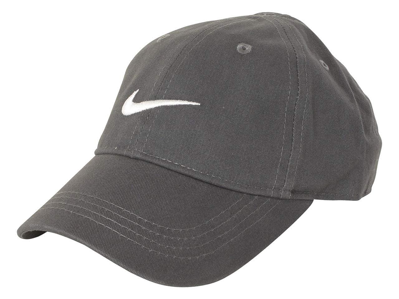 Nike Toddler Solid Swoosh Cotton Baseball Cap Sz: 2/4T