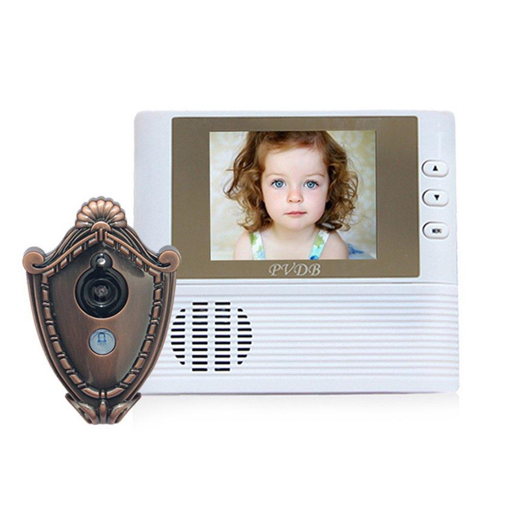 TOOLTOO Visible Door Bell Wireless Peephole High-definition Peep Hole Household Electric Door Viewer Intelligent Doorbells