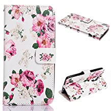 Galaxy Mega 6.3 Case, Everun Flip Wallet Case for Samsung Galaxy Mega 6.3 I9200 with Stand Feature and Credit Card Slots(Not Fit for Galaxy S5 I9600)
