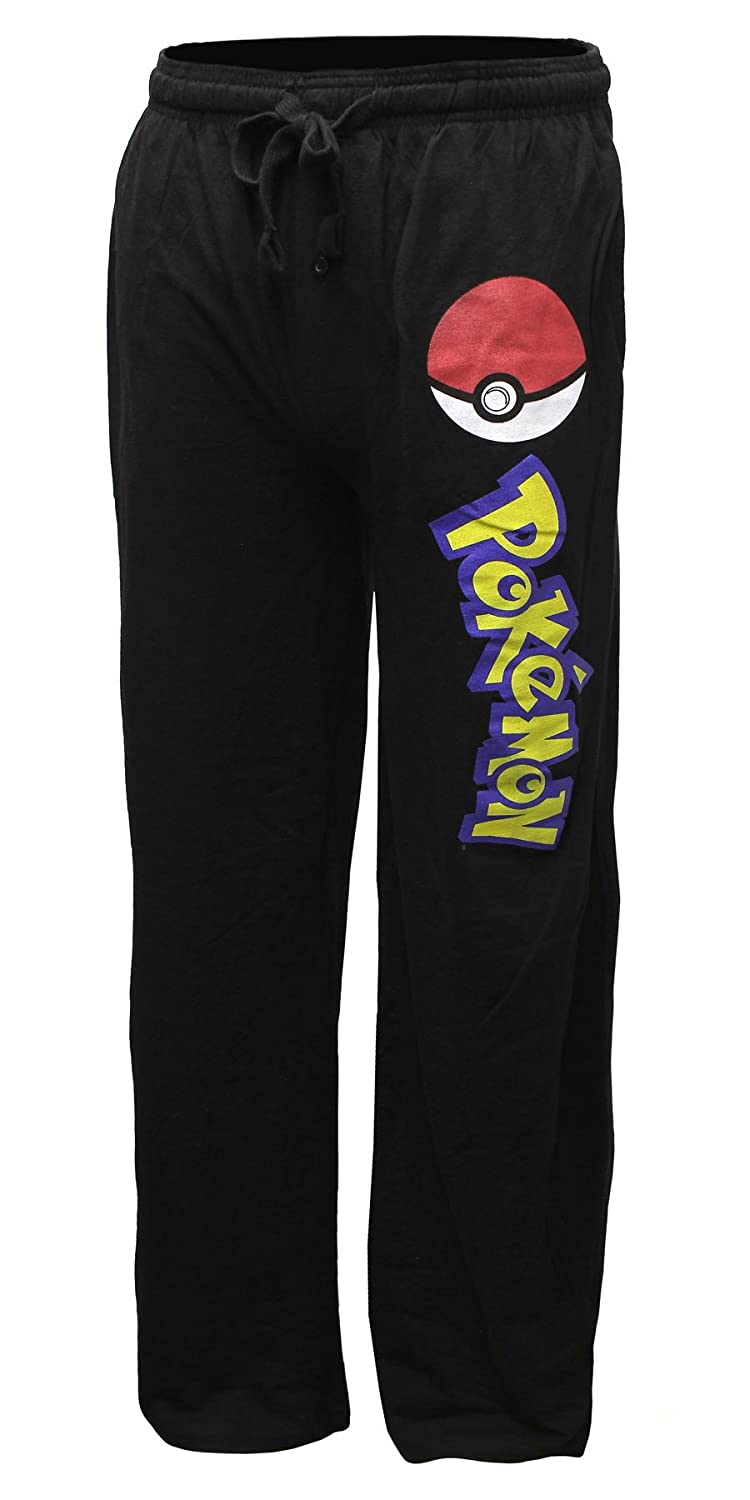 Pokemon Pokeball Men's Pajama Pants Bioworld