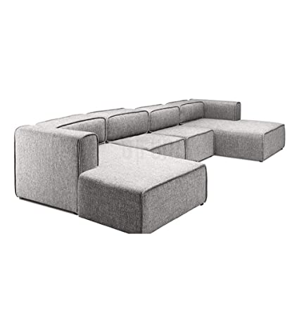 Amazon.com: Modern U-Shaped Sofa - Björn: Kitchen & Dining
