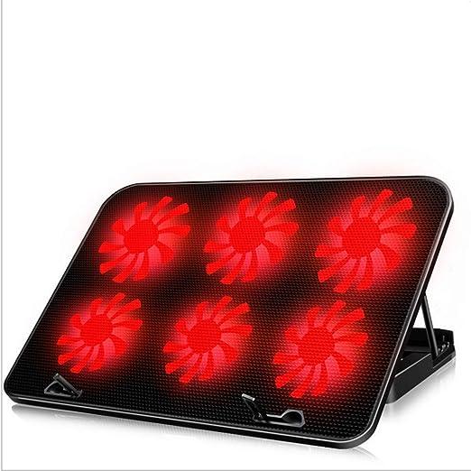 SYDYD Soporte para Laptop/Ventilado Base De Refrigeración Gaming para Portátiles De hasta 17