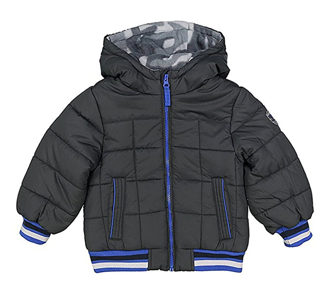 Osh Kosh B'gosh Little/Big Boys Grey & Blue Puffer Coat