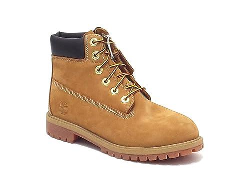 cecf262d1c93d0 Timberland scarpe ragazzo, 12809-12709-12909, polacco boot in nabuk, colore  miele: Amazon.it: Scarpe e borse