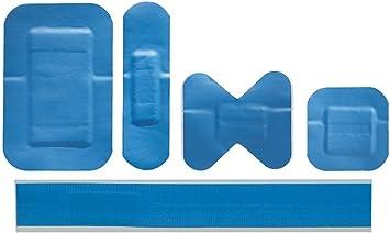 Coverplast Azul Detectables X-Ray/impermeable – Caja de tiritas surtidos Caja de 95: Amazon.es: Salud y cuidado personal