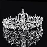 Musuntas festa di nozze sposa damigella d' onore lucente cristallo strass Corona Tiara capelli band-hg013