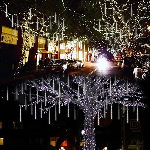 360 White Led Icicle Lights in Florida - 8