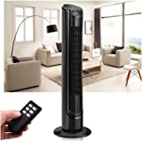 """40"""" LCD Tower Fan Digital Control Oscillating Cooling Air Conditioner Bladeless"""