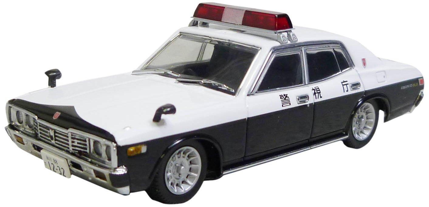 DISM 1/43 330 Cedric Streifenwagen (Platz Sonic Typ) Enkeibaha