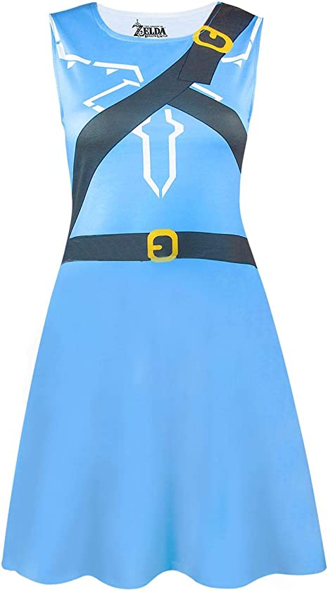 The Legend Of Zelda Breath Of The Wild Costume Dress