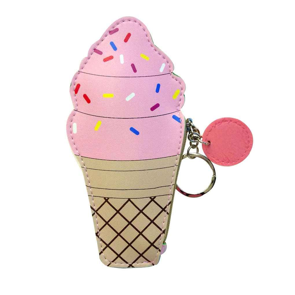 miaomiaogo CartoonレディースMini Coin Purses andハンドバッグCute Icecreamボトルクリエイティブレザーポーチ子小さなバッグ B075ZVBSMX  icecream