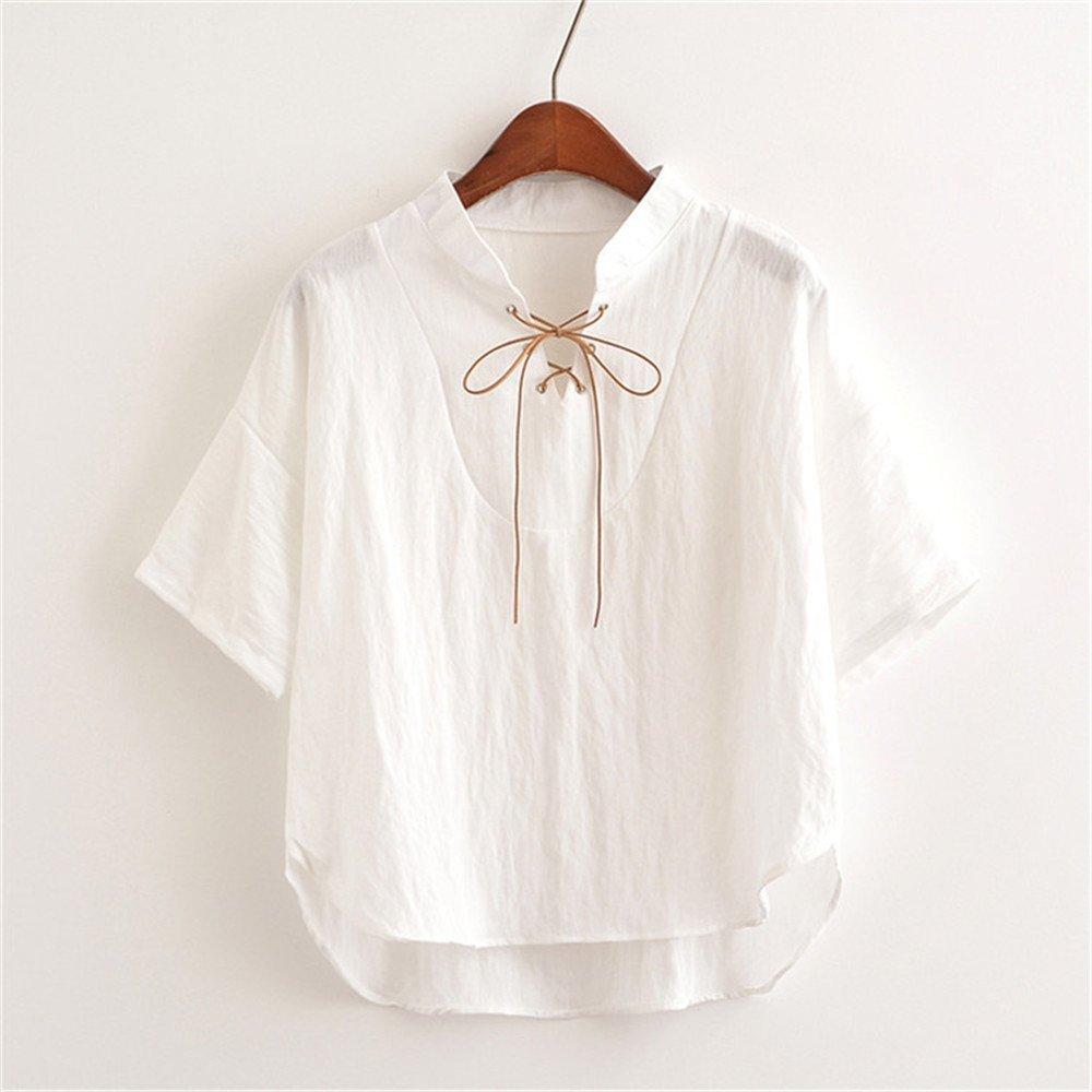 LLS-T-shirt mujer /Slouchy Verano lindo gracioso Tops de manga ...