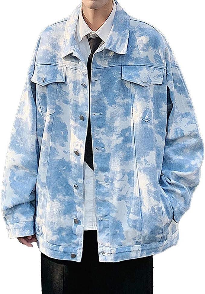 [もうほうきょう] デニムジャケット メンズ ジージャン アウター ジャケット コート 春秋 カジュアル アウター おしゃれ