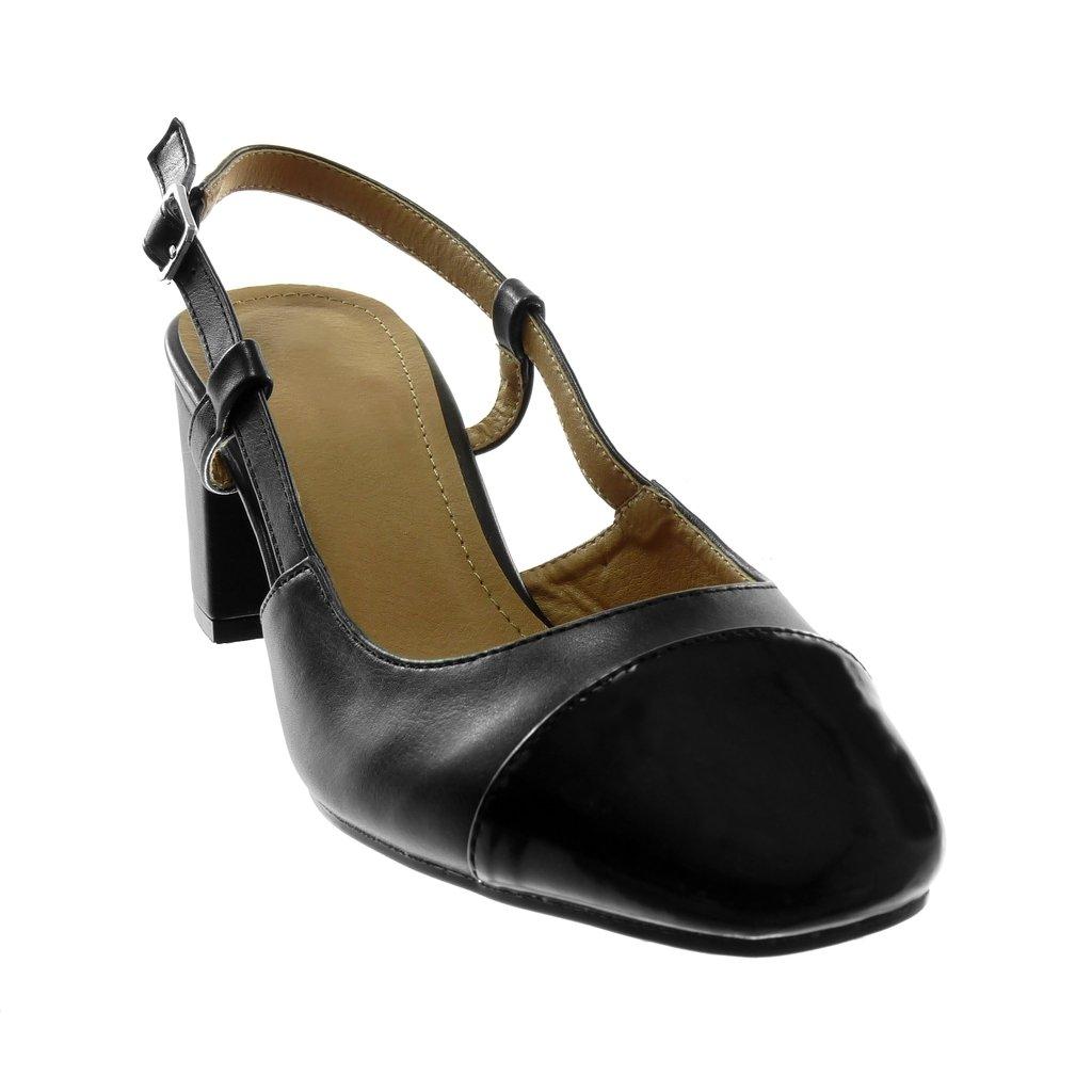 Escarpin Sandale Arrière Decolleté Chaussure Mode Ouverte Angkorly 4xwPZC7qP
