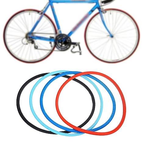 SolUptanisu Neumáticos Sólidos de Bicicleta,700 x 23c Neumáticos ...