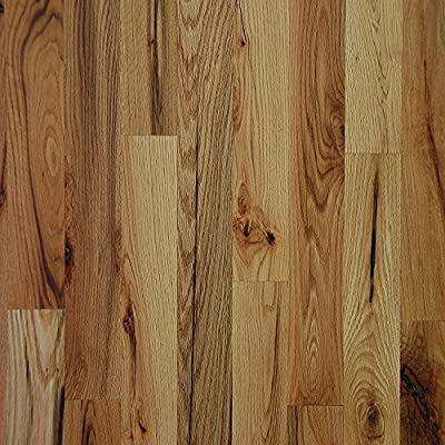 "2 1/4"" x 3/4"" Red Oak #3 Common Unfinished Solid Wood Flooring Samples at Discount Prices by Hurst Hardwoods"