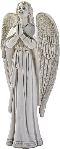 Design Toscano Divine Guidance Praying Guardian Angel Religious Garden Statue