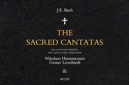 2008年盤 アーノンクール&レオンハルト J.S.バッハ 教会カンタータ全集(60枚組)の商品写真