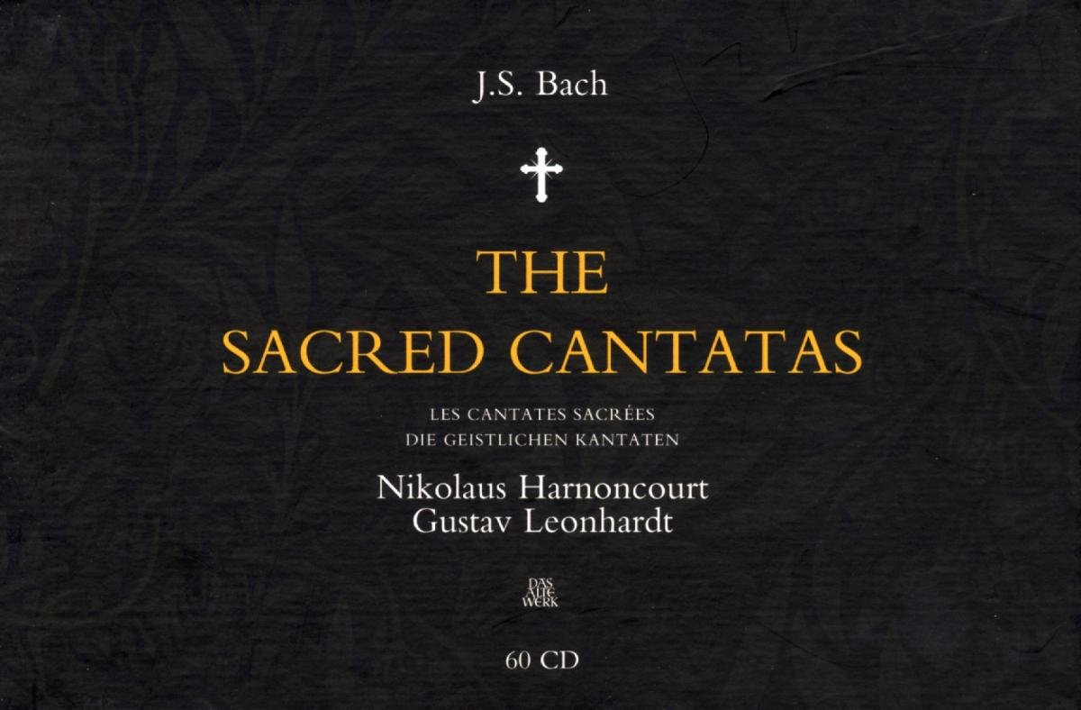 Bach: The Sacred Cantatas [Complete, Nos 1-199] by RHIP2