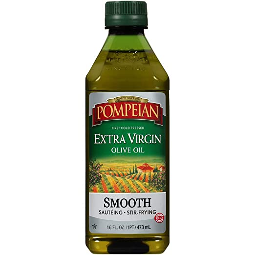 Pompeian Smooth Extra Virgin Olive Oil - 16 Ounce