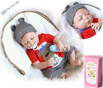 18 Inch//45cm Reborn Doll Baby Girls Children/'s Toy Newborn Lifelike Dolls
