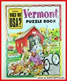 img - for Vermont Puzzle Book (Highlights Which Way USA?, Vermont) book / textbook / text book