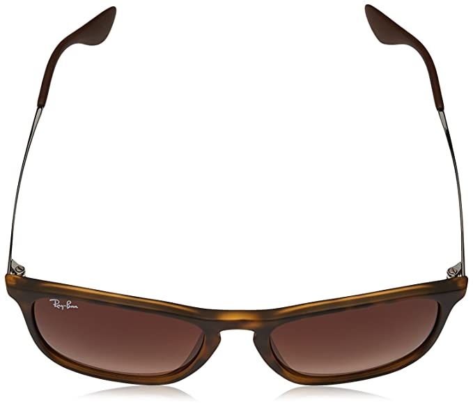 6b2677dc06 New Ray Ban Chris RB4187 856 13 Tortoise  Brown Gradient 54mm Sunglasses   Amazon.in  Clothing   Accessories