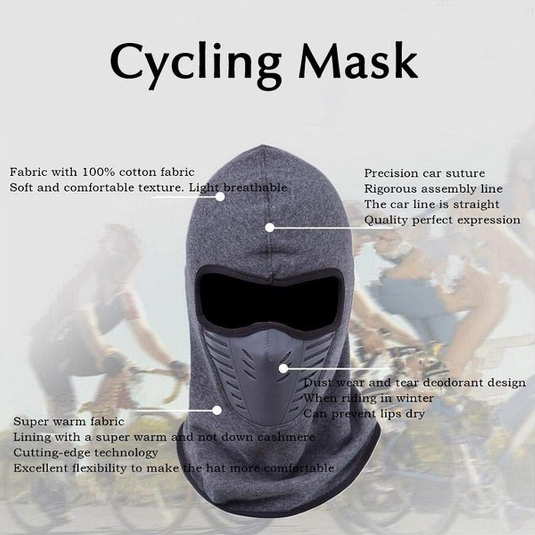 Zippem Unisex Ski Mask Winter Outdoor Sports Patchwork Windproof Warm Face Mask Masks & Shields