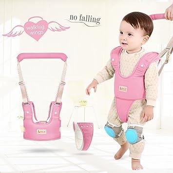 Harnessing Childrens Natural Ways Of >> Amazon Com Baby Walker Safety Harness Kids Handheld Adjustable