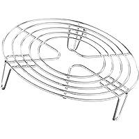 Minkissy Stainless Steel Trivet Rack Stand Food Steaming Rack Pressure Cooker Steamer Rack Kitchen Gadgets Air Fryer…