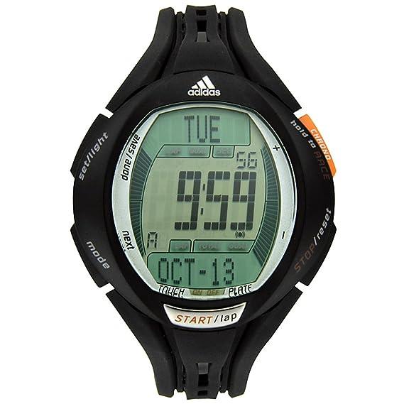 adidas Unisex Reloj, adp1485, con Correa de Caucho de Color Negro, Digital Dial y Fecha Función: Amazon.es: Relojes