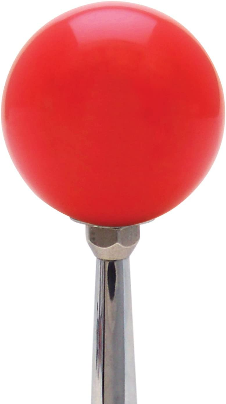 Orange Speed Racer Red with M16 x 1.5 Insert American Shifter 272207 Shift Knob
