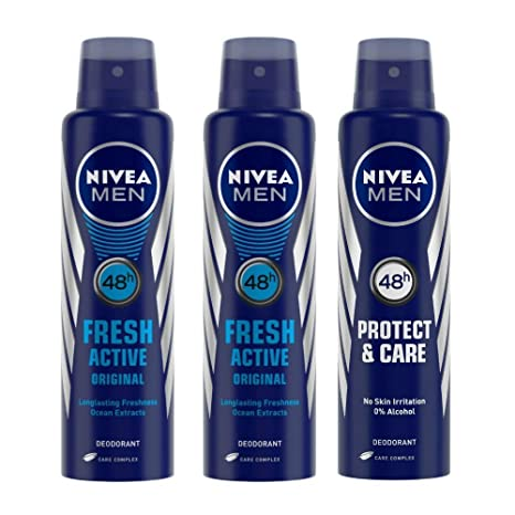 47a7f4ea176 Buy Buy 2 Nivea Fresh Active Deodorant For Men