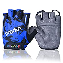 iwish New Style Child Thin Half Finger Outdoor Sports Cycling Bike Gloves kids gloves
