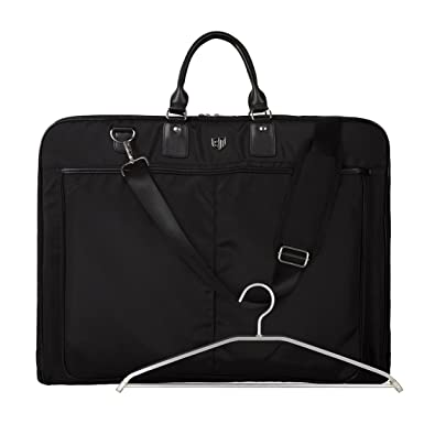 6aee65d3f2 Image Unavailable. Image not available for. Color: BAGSMART Garment Bag for  Suits and Wedding Dresses with Shoulder Strap and Hanger ...