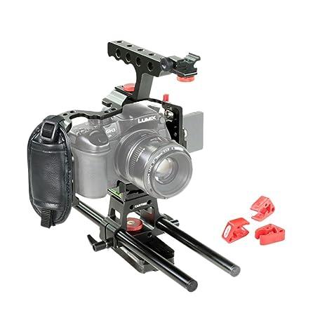 Camtree Hunt jaula de cámara para Panasonic Lumix GH4/GH3 (ch-gh43 ...