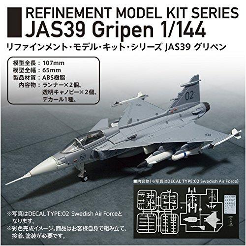 JAS39 グリペン 1/144 キット2個セット Z-4012
