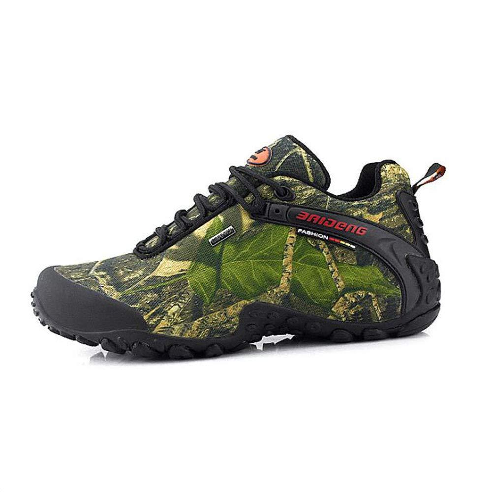 Nuevo otoño e Invierno Zapatos al Aire Libre Zapatos para Caminar Zapatos para Caminar Zapatos Casuales Zapatos de Hombre a Prueba de Agua Antideslizante 45 EU|Verde