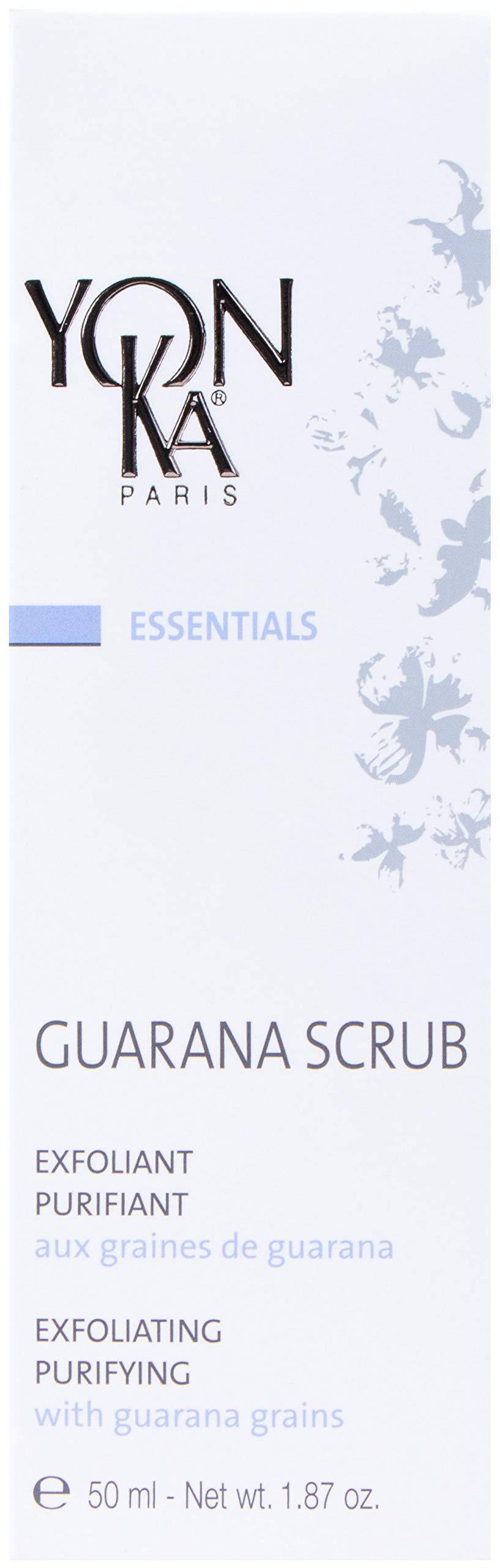 YON-KA ESSENTIALS GUARANA SCRUB Exfoliant (1.8 Ounce / 50 Milliliter)