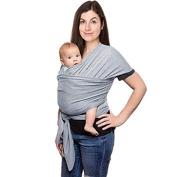 Tragetuch Babytragetuch Babytrage Baby Bauchtrage Baumwolle bis 22 kg Newborn