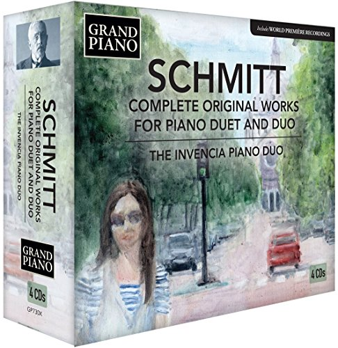 Complete Piano Original Music (Florent Schmitt: Complete Original Works for Piano Duet & Duo)