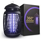 Electric Bug Zapper, Effective 4200V Electric Mosquito Zappers, Mosquito Zappers, Mosquito lamp, Waterproof Outdoor…
