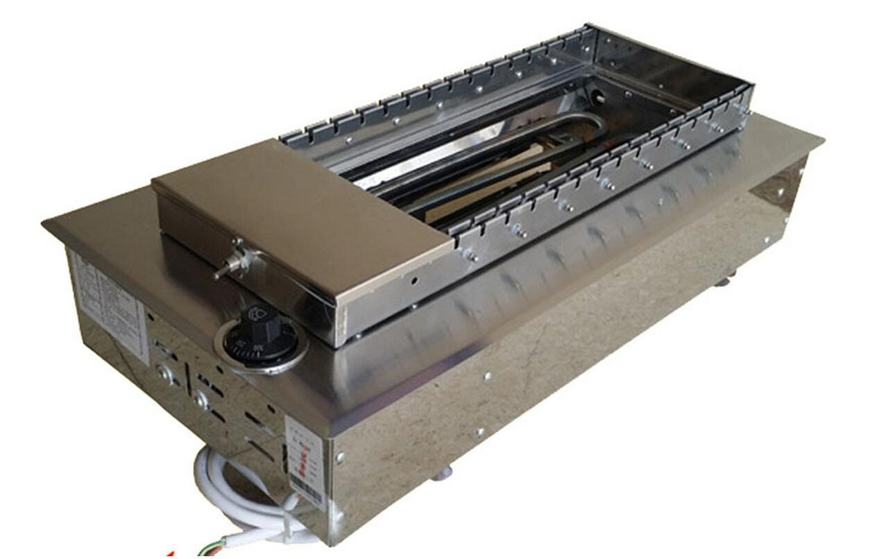 Electric Automatic Turning Burn Oven