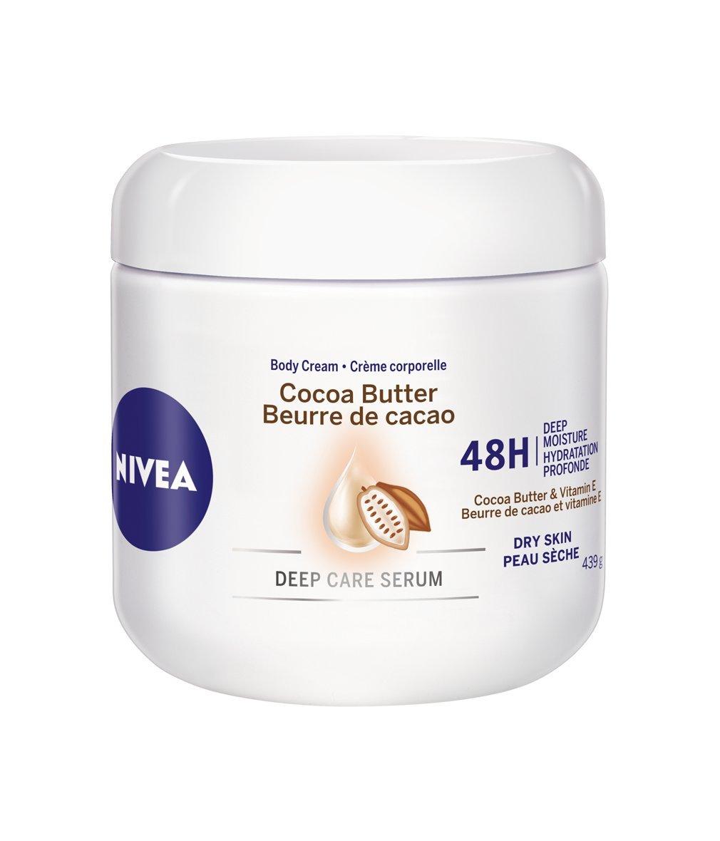 NIVEA Cocoa Butter 48H Deep Moisture Body Cream for Dry Skin, 439 g Beiersdorf Canada Inc. 056594011090