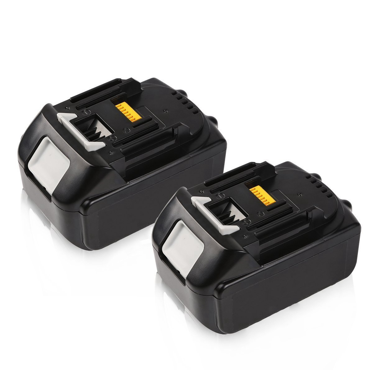 2Pack 5.0Ah BL1850 Battery Replacement for Makita 18V LXT Lithium-ion BL1815 BL1820 BL1830 BL1840 BL1850 Cordless Power Tools