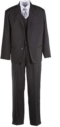 Husky Dress Pants for Boys-Black