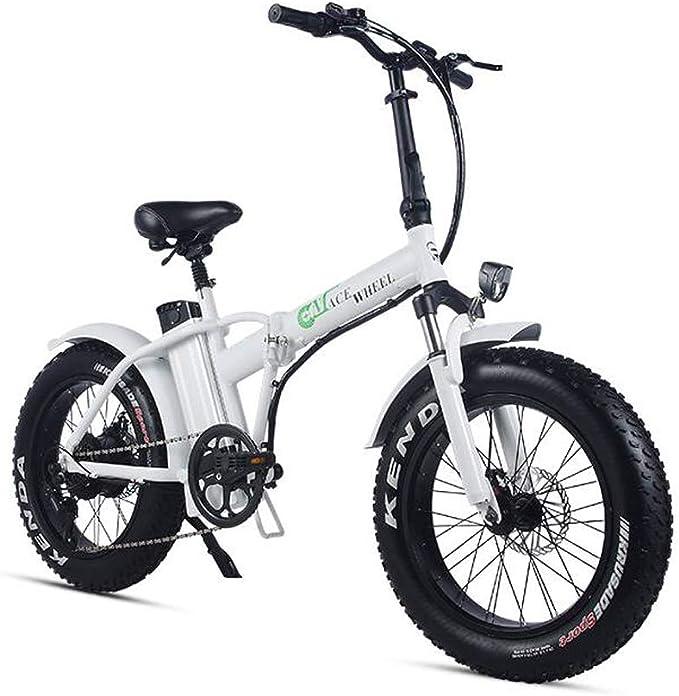 XXCY Bicicleta eléctrica Plegable 500w e-Bike 20