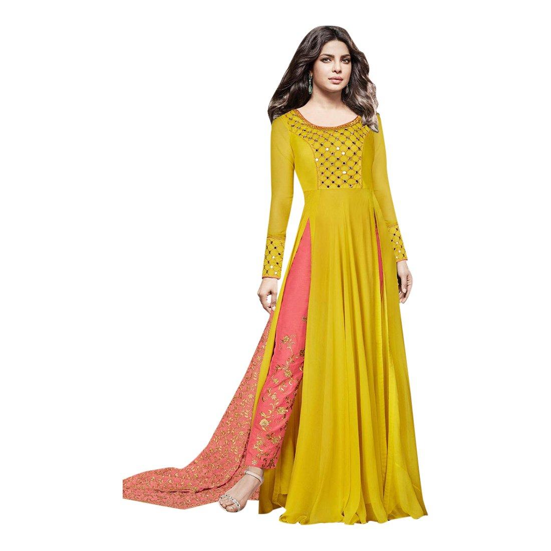 Designer Wedding Ceremony Floor Length Anarkali Suit With